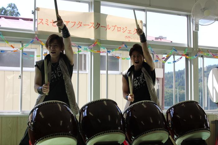 夢をかなえるプログラム「太鼓の名人に叩き方を教えてほしい!」@岩手県一ノ関