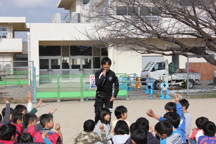夢をかなえるプログラム「プロサッカー選手と一緒に練習したい!」@熊本県菊池郡菊陽町